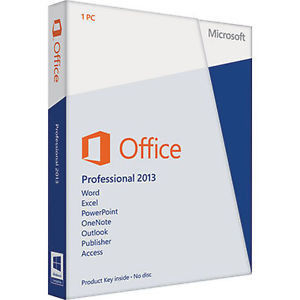 China Genuine Microsoft Office 2013 Retail License , Microsoft Office Professional Plus 2013 supplier