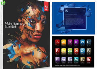 China Adobe Photoshop Cs5 Extended Full Version For Windows Beautiful Photos Processor supplier