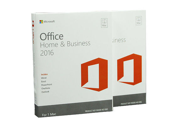 China Global Area MS Office Home And Business 2016 , Microsoft Office And Home supplier