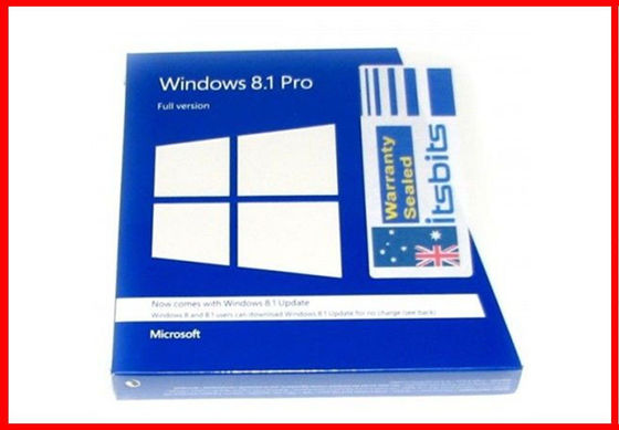 China 32 / 64bit Windows 8.1 Pro OEM Key Microsoft Product Key Sticker Full Version supplier