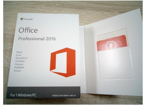 China Windows Operating System Microsoft Office Pro Plus 2016 Product Key Card supplier