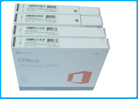 China Full Version MS Office Professional 2016 Product Key English Language supplier