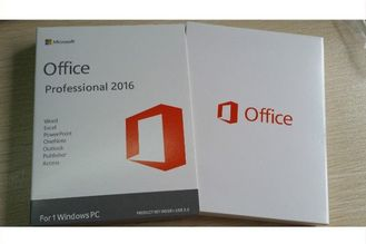 China Full Version MS Office Professional 2016 Product Key Standard DVD Retail Box supplier