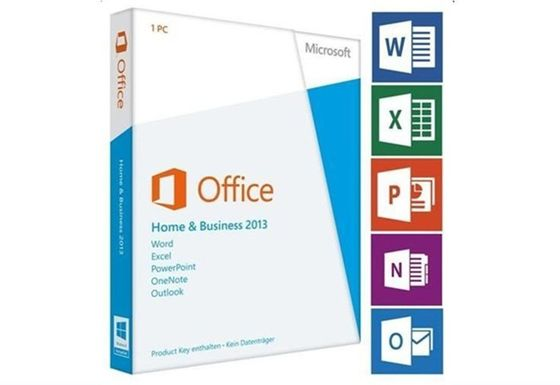 China Original Microsoft Office Professional 2013 Product Key Card Deutsche Vollversion supplier