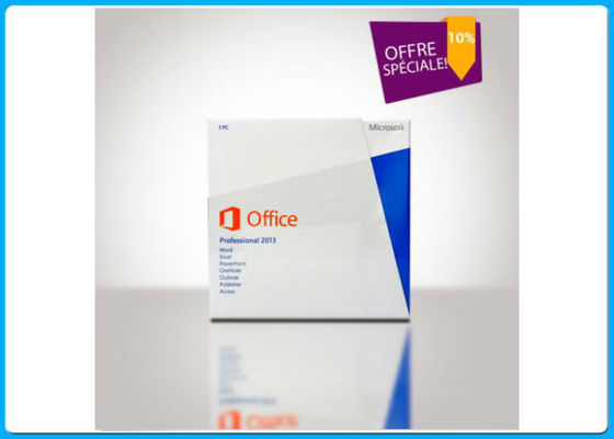 China English Version Microsoft Office 2013 Professional Software Microsoft Office Retail Box supplier