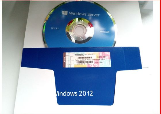 China OEM Pack Windows Server 2012 Retail Box , Microsoft 2012 R2 Standard 5 Cals 64 Bit supplier