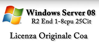 China Windows Server 2008 R2 Enterprise  , Win Server 2008 R2 Standard Software supplier