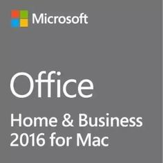 China License Key Box Pack Microsoft Office Home & Business 2016 For Mac Platform supplier