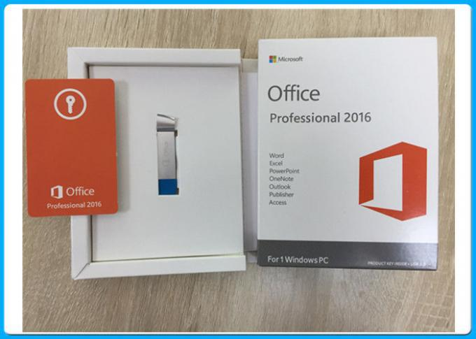 Microsoft Office 2016 Professional Plus Full Retail English Version MS Pro 2016