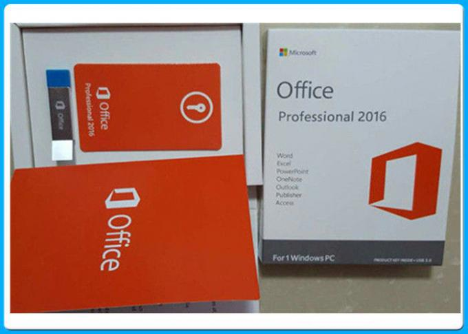 3.0 USB Microsoft  Office 2016 Pro Plus Key License For 1 Windows PC
