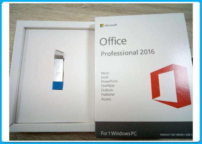 Multi - Language Office 2016 Professional Plus Retailbox 3.0 USB Activation Globally
