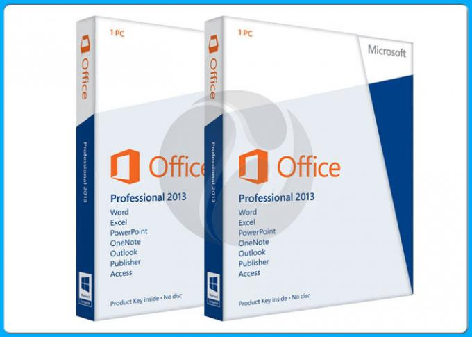 100% online activation Microsoft Office 2013 Professional Software 32/64 Bit for 1 PC