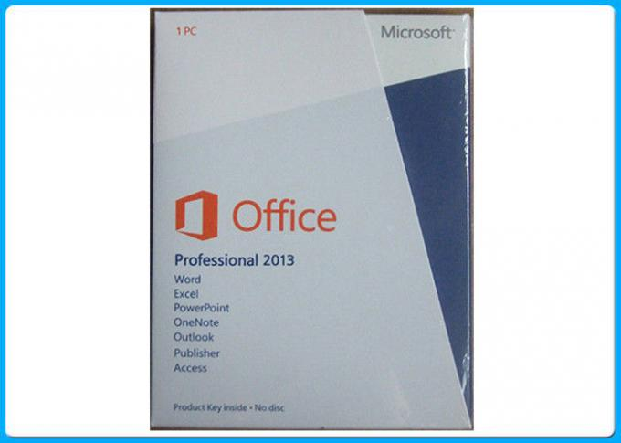 English Version Microsoft Office 2013 Professional Software , Microsoft Office Retail Box Dvd