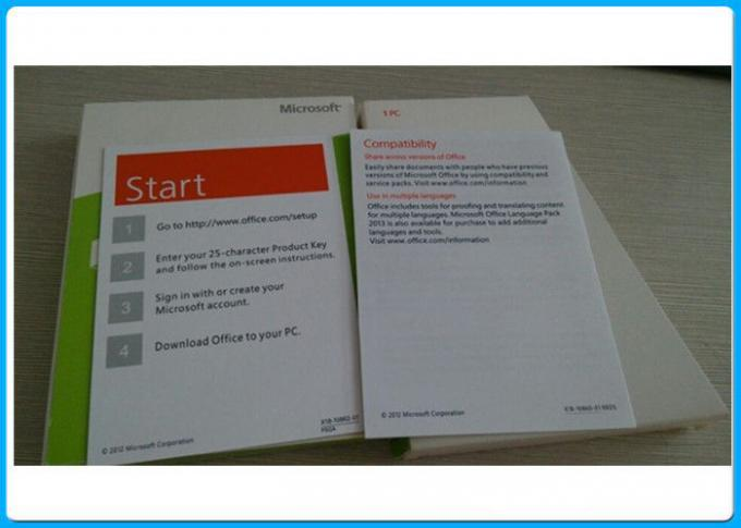 Home Student Microsoft Office 2013 Professional Software Box FPP Key