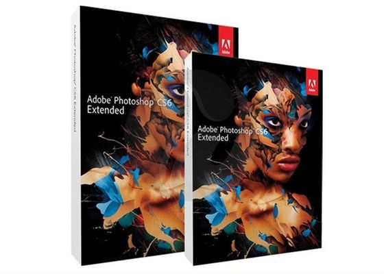 China Mac Adobe Graphic Design Software , Adobe Photoshop CS6 Extended Full Version distributor