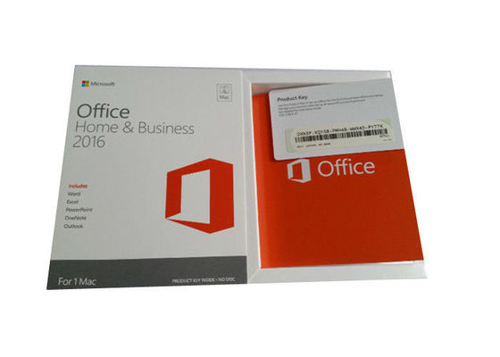 China Download Directly MS Office Home And Business 2016 6GB Hard Drive Space factory