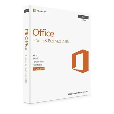 China Italy Region MS Office Home And Business 2016 , Microsoft Office For Mac Standard 2016 factory