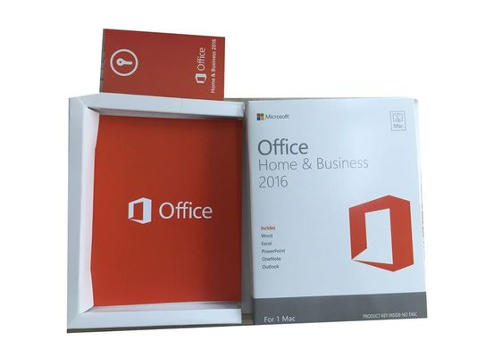 China Mac Office 2016 License Key , Office 2016 Home And Business Key Card Online Activation distributor