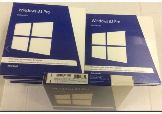 China Professional Microsoft Windows 8.1 Pro OEM Key 64 Bit Retail Box Full Version factory