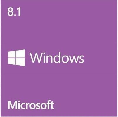 China 64 / 32 Bit Microsoft Windows 8.1 Product Key Full Version DVD PN WN7-00657 factory
