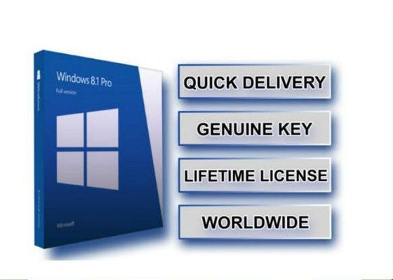 China 100% Genuine Microsoft Windows 8.1 Home Professional Activation Key DVD Version factory
