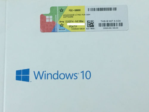 China Activated Online COA License Sticker Windows 10 Professional Activation Key distributor
