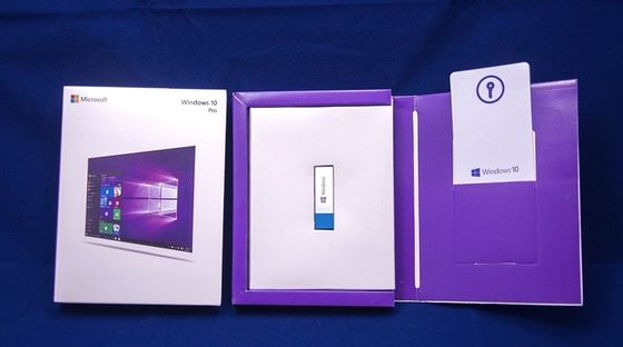 China OEM Box Microsoft Windows 10 Professional Retail License Key Online Activation factory