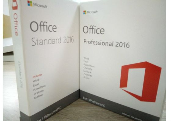 China Genuine MS Office Professional 2016 Product Key , Microsoft Office 2016 Activation Code distributor