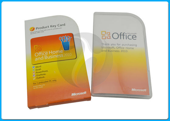 China Yellow Color Microsoft Office Professional Plus 2010 / 2013 PKC Version distributor