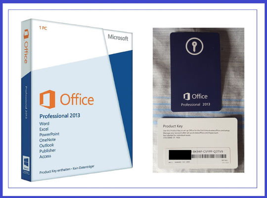 China 1 GB RAM Microsoft Office Professional 2013 Product Key , MS Office Pro Plus 2013 factory
