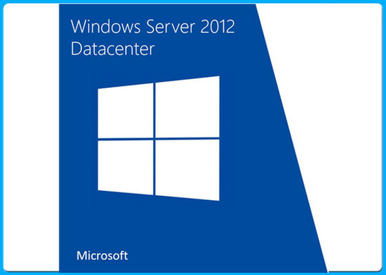 China 64 Bit Microsoft Windows Server 2012 Datacenter Standard DVD Retail Box COA License factory