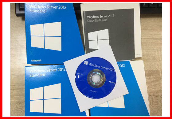 China English Windows Server 2012 R2 Standard Retail Box 1PK DVD 2CPU / VM OEM Pack factory