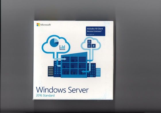 China Global Area Activation Windows Server 2016 Standard 64bit OEM 16 CORE factory